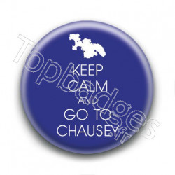 Badge Keep calm and go to Chausey