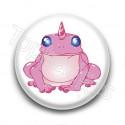 Badge Grenouille Licorne