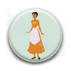 Badge Princesse Tiana