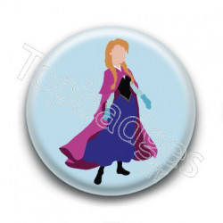Badge Princesse Anna
