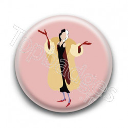 Badge Cruella d'Enfer