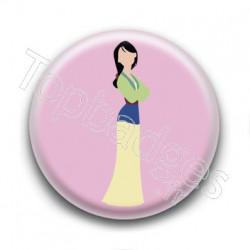 Badge Guerrière Mulan