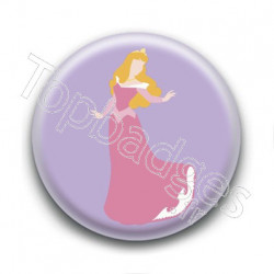 Badge Princesse Aurore