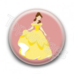 Badge Princesse Belle