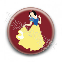 Badge Princesse Blanche Neige
