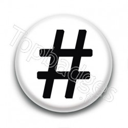 Badge Hashtag