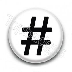 Badge Hashtag