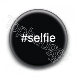 Badge Hashtag Selfie