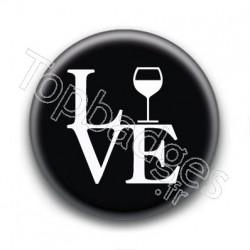 Badge Love Alcool