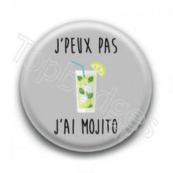 Badge J'peux pas,  j'ai Mojito
