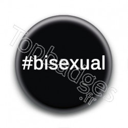Badge Hashtag Bisexual