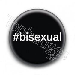 Badge Hashtag Bisexual