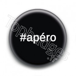Badge Hashtag Apéro