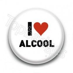 Badge I Love Alcool