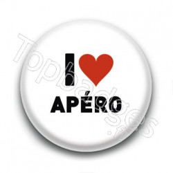 Badge I Love Apéro