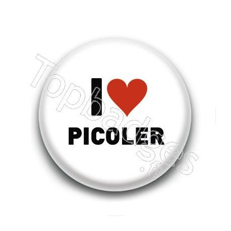 Badge I Love Picoler