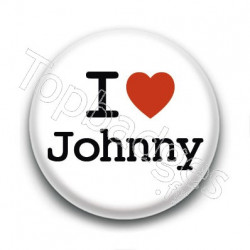 Badge : I love Johnny