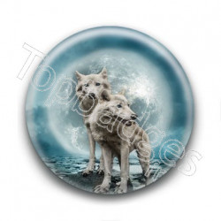 Badge Loups Blancs
