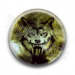 Badge Loup Attaquant