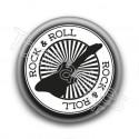 Badge Rock & Roll Guitare