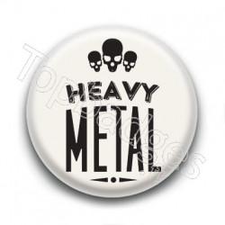 Badge Heavy Métal