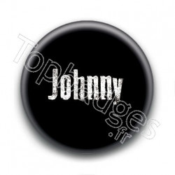 Badge : Johnny H, fond noir 2
