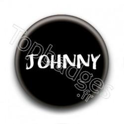 Badge : Johnny H, fond noir 3