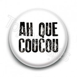 Badge : Ah que coucou, Johnny Hallyday