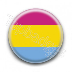 Badge Drapeau Pansexual Pride