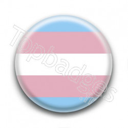 Badge Drapeau Transgender Pride