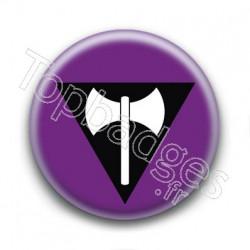 Badge Drapeau Lesbian Pride