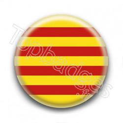 Badge Drapeau de la Catalogne