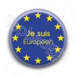 Badge Je suis Européen
