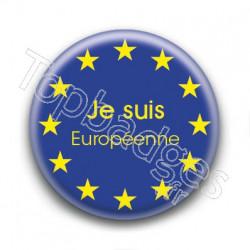 Badge Je suis Européenne