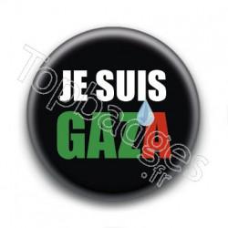 Badge Je suis Gaza