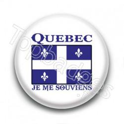 Badge Québec, Je me souviens
