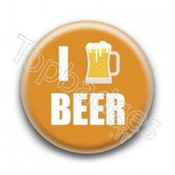 Badge I Love Beer