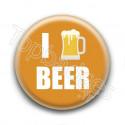 Badge I Love Beer