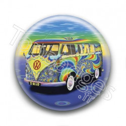 Badge Combi Psychedelique
