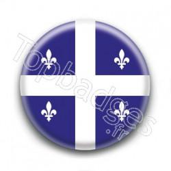 Badge Drapeau Québec