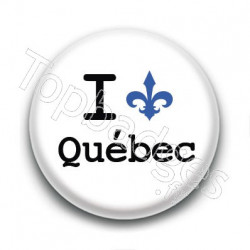 Badge I Love Québec