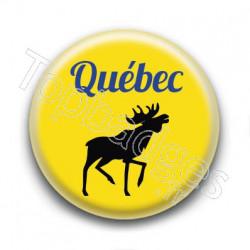 Badge Québec Caribou