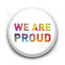 Badge We Are Proud