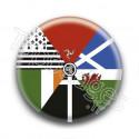 Badge Drapeau Interceltique