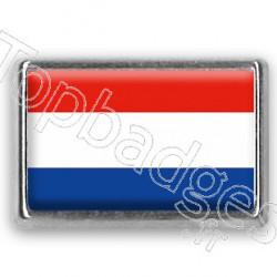 Pins chromé drapeau des Pays-Bas