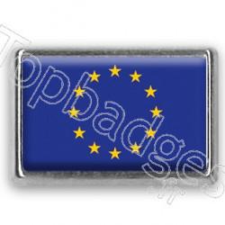 Pins rectangle  : Drapeau Union Européenne