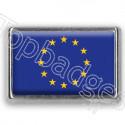 Pins chromé drapeau de l'Union Européenne