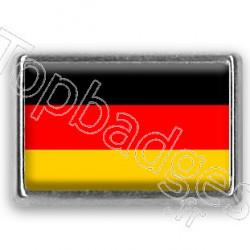 Pins chromé drapeau d'Allemagne