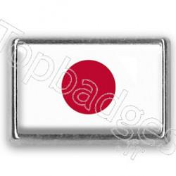 Pins rectangle : Drapeau Japon