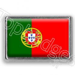 Pins rectangle : Drapeau Portugal
